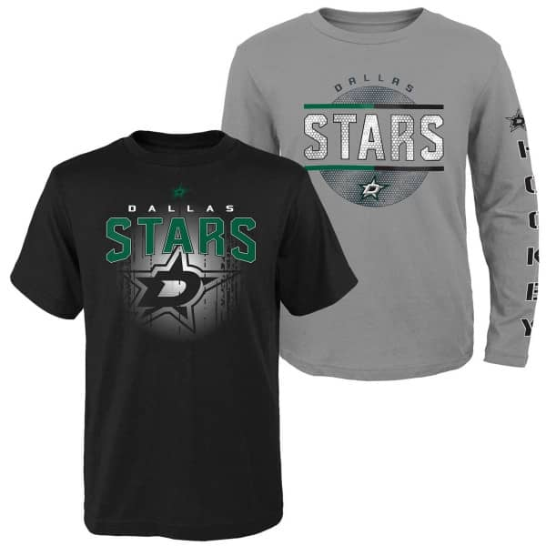 Dallas Stars Evolution 3-in-1 Combo Shirt Set (KINDER)