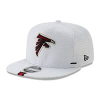 Atlanta Falcons 2019 NFL Training 9FIFTY Snapback Cap Weiß