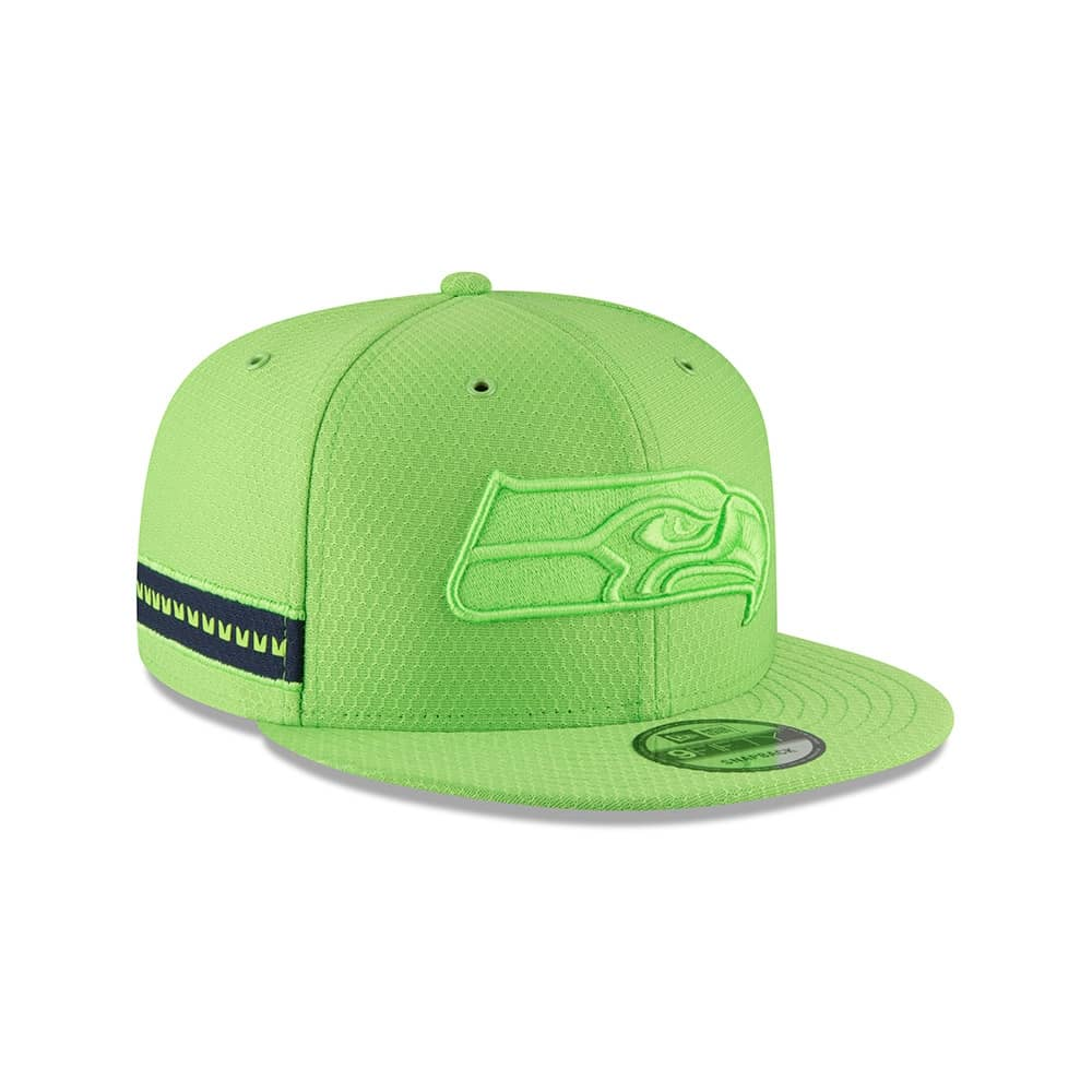 77c7b3cd3 New Era Seattle Seahawks 2018 Color Rush 9FIFTY NFL Snapback Cap ...