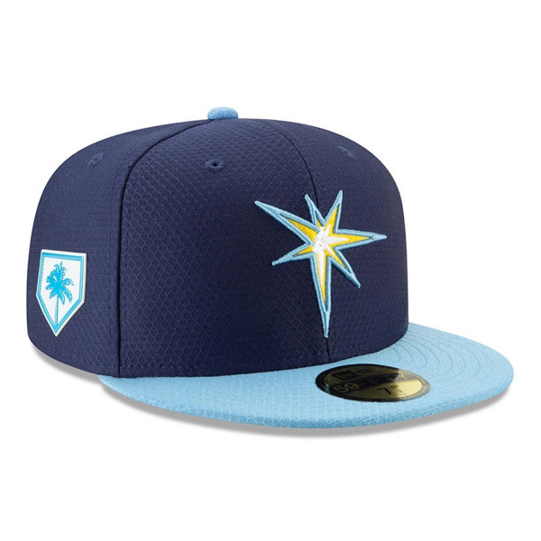 size 40 0b772 88eb5 New Era Tampa Bay Rays 2019 Spring Training 59FIFTY Fitted MLB Cap  Alternate   TAASS.com Fan Shop