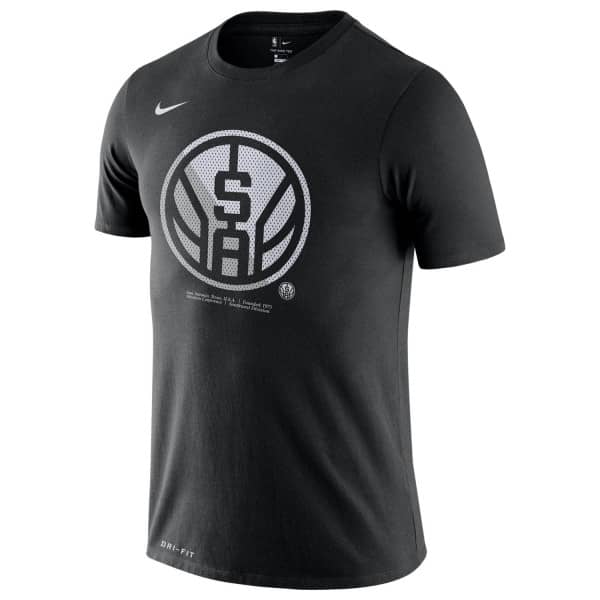 San Antonio Spurs Bold Logo Dri-FIT NBA T-Shirt