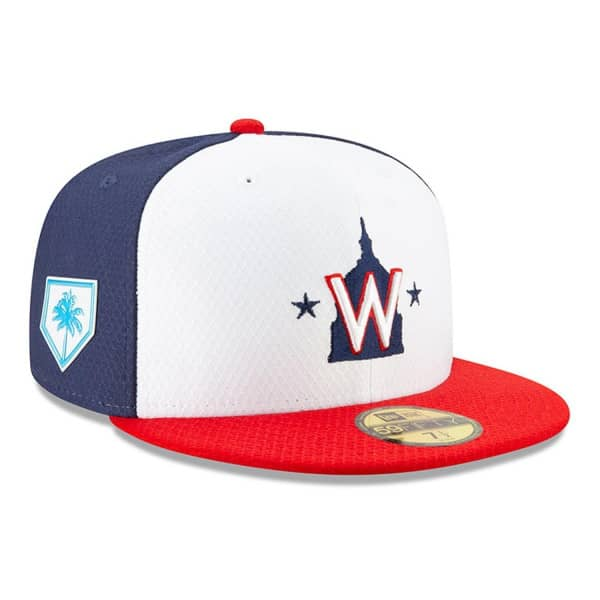 online store 602bd 2174d New Era Washington Nationals 2019 Spring Training 59FIFTY Fitted MLB Cap    TAASS.com Fan Shop
