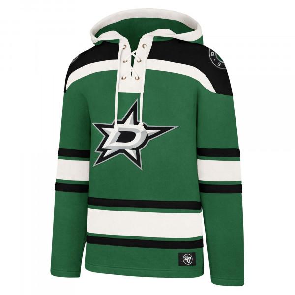 Dallas Stars Superior '47 Lacer Jersey Hoodie NHL Sweatshirt