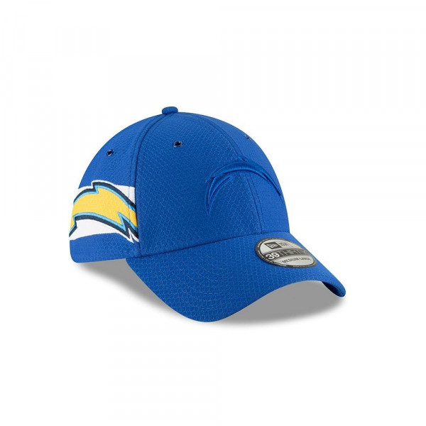 Los Angeles Chargers 2018 Color Rush 39THIRTY NFL Flex Cap
