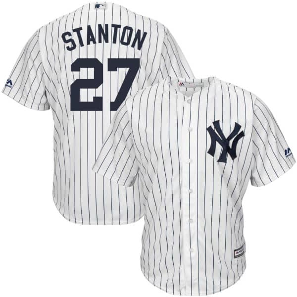 Giancarlo Stanton #27 New York Yankees Cool Base MLB Trikot Home