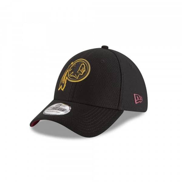sale retailer fd99f bff41 New Era Washington Redskins 2018 NFL Training 39THIRTY Cap Black    TAASS.com Fan Shop