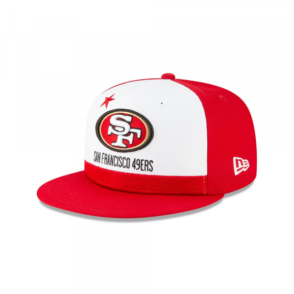 4f548fd9 San Francisco 49ers 2019 NFL Draft On-Stage 9FIFTY Snapback Cap