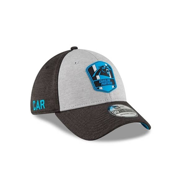 Carolina Panthers 2018 NFL Sideline 39THIRTY Flex Cap Road