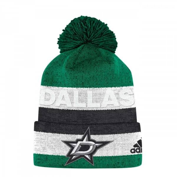 7600c62f5d4 adidas Dallas Stars Juliet Cuffed Beanie NHL Knit Hat