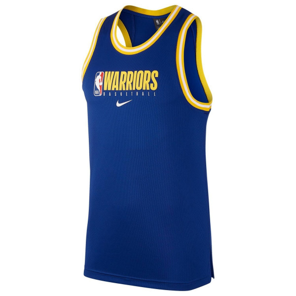 Golden State Warriors Nike 2019/20 NBA Practice Performance Trikot