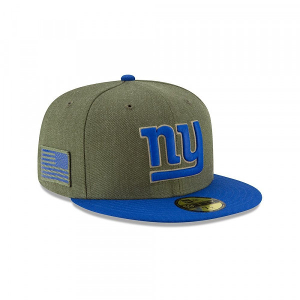 New York Giants 2018 Salute to Service 59FIFTY NFL Cap