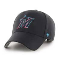 Miami Marlins '47 MVP Adjustable MLB Cap Schwarz