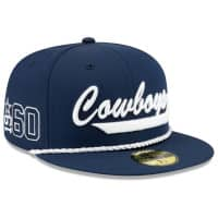 Dallas Cowboys 2019 NFL On-Field Sideline 9FIFTY Snapback Cap Home