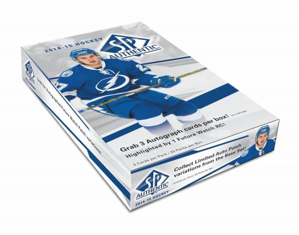 2014/15 Upper Deck SP Authentic Hockey Hobby Box NHL