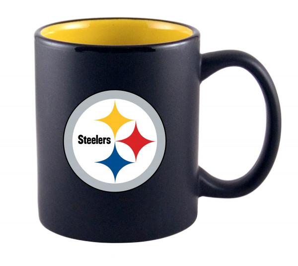 Pittsburgh Steelers Two Tone NFL Becher (325 ml)