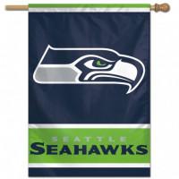 Seattle Seahawks Vertical NFL Fahne