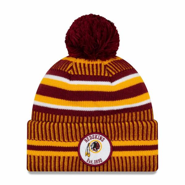 Washington Redskins 2019 NFL Sideline Sport Knit Wintermütze Home