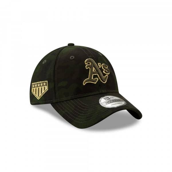 Oakland Athletics 2019 Armed Forces Day Adjustable MLB Cap