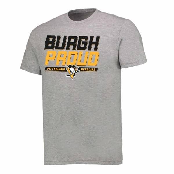 Pittsburgh Penguins Burgh Proud Hometown NHL T-Shirt