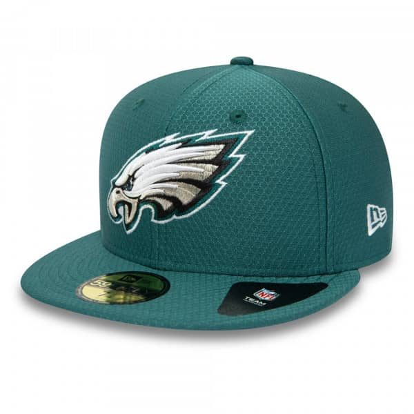sports shoes c1650 648c3 New Era Philadelphia Eagles Hex Tech NFL 59FIFTY Fitted Cap Green   TAASS.com  Fan Shop