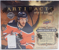 2019/20 Upper Deck Artifacts Hockey Hobby Box NHL