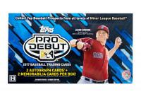 2017 Topps Pro Debut Baseball Hobby Box