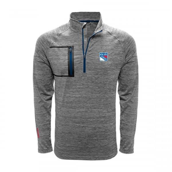 New York Rangers Vault Pocket Quarter Zip NHL Shirt