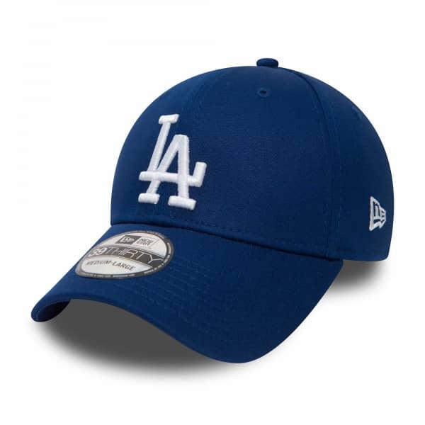 Los Angeles Dodgers League Essential New Era 39THIRTY Flex Fit MLB Cap Blau