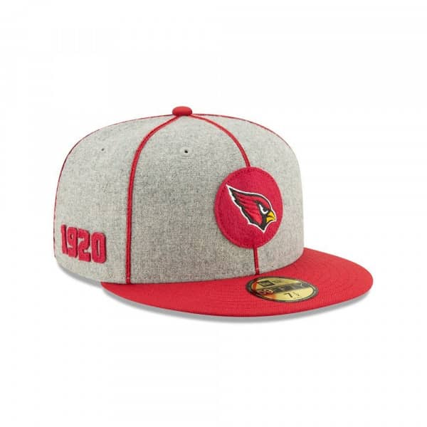 Arizona Cardinals 2019 NFL On-Field Sideline 59FIFTY Fitted Cap Home