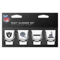 Las Vegas Raiders NFL Schnapsgläser Set (4 Stück)