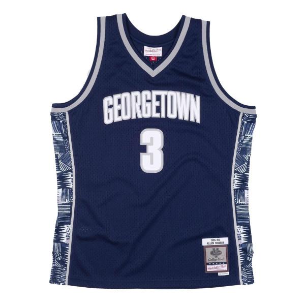 Allen Iverson #3 Georgetown Hoyas 1995-96 Mitchell & Ness Swingman NCAA Trikot