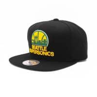Seattle SuperSonics Wool Solid Snapback NBA Cap