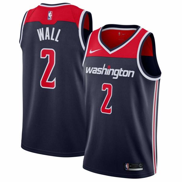 John Wall #2 Washington Wizards Statement Swingman NBA Trikot Navy