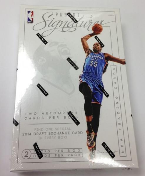 2013/14 Panini Signatures Basketball Hobby Box NBA