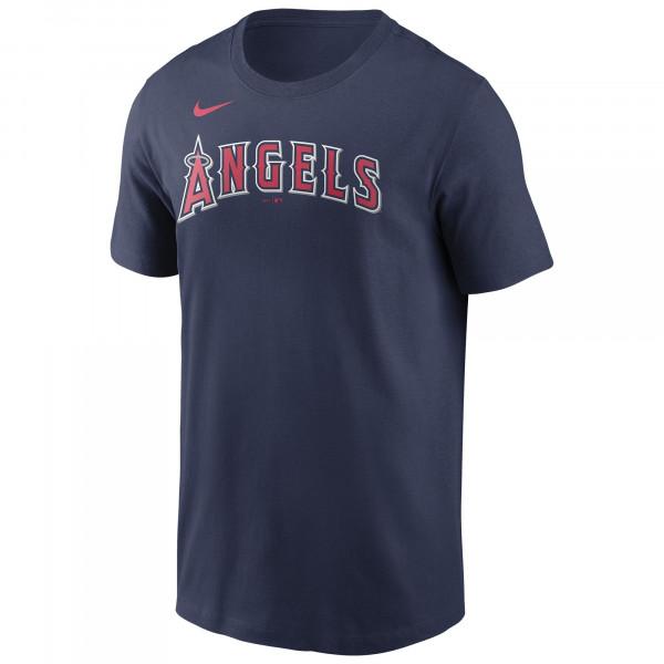 Los Angeles Angels Wordmark Nike MLB T-Shirt Navy