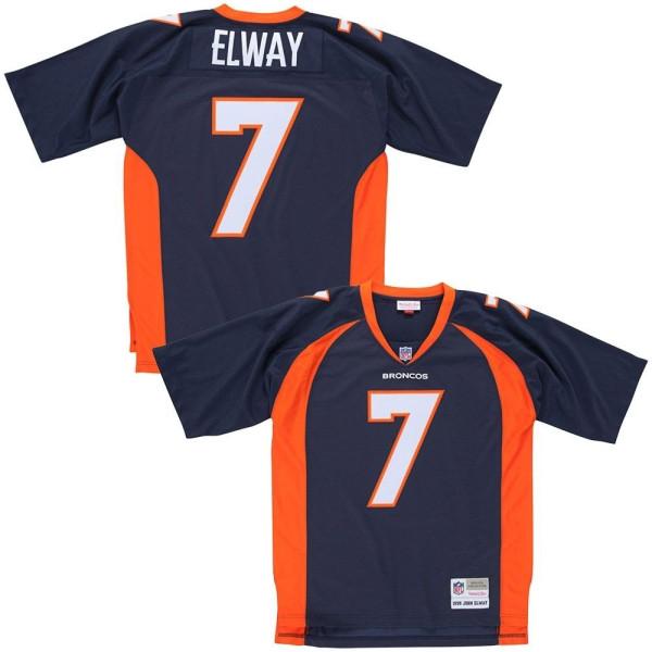 John Elway #7 Denver Broncos Legacy Throwback NFL Trikot Navy