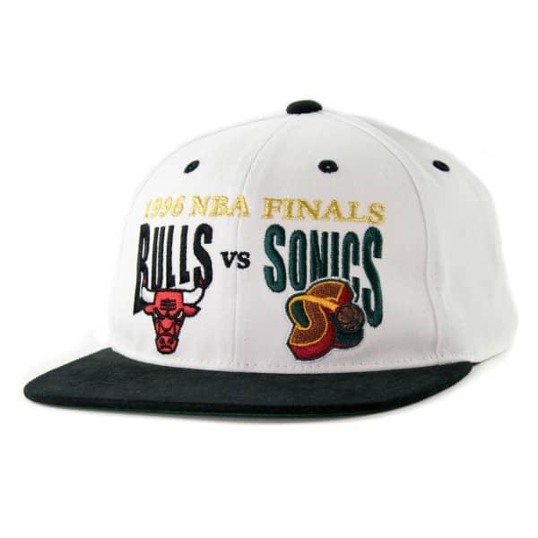 1996 NBA Finals: Bulls vs Sonics Mitchell & Ness Deadstock Snapback Cap