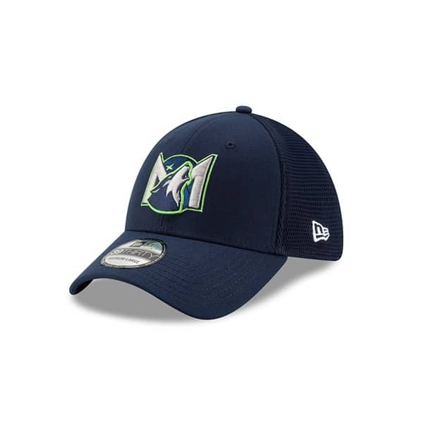 Minnesota Timberwolves 2019 NBA Back Half 39THIRTY Stretch Fit Cap