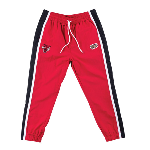 7bc07eb8231bf Mitchell & Ness Chicago Bulls Tear Away NBA Warm Up Pants Red | TAASS.com  Fan Shop