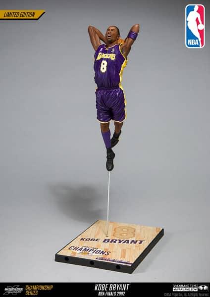 Kobe Bryant Los Angeles Lakers 2002 NBA Finals Action Figur