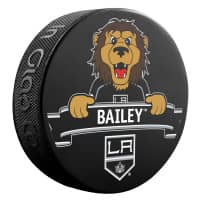 Los Angeles Kings Bailey Mascot NHL Souvenir Puck