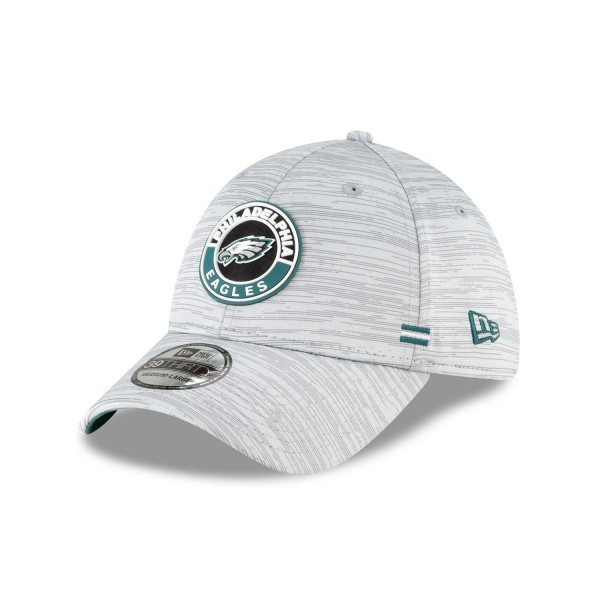 Philadelphia Eagles Official 2020 NFL Sideline New Era 39THIRTY Flex Cap Road