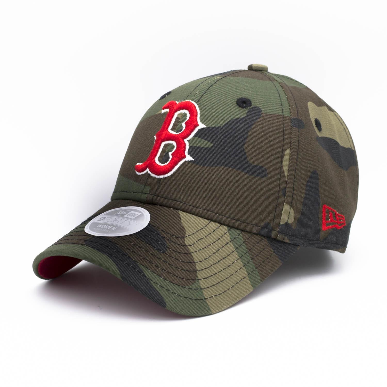 outlet store cf67d 8eaff New Era Boston Red Sox Camouflage Team Adjustable MLB Cap (WOMEN S)   TAASS.com  Fan Shop