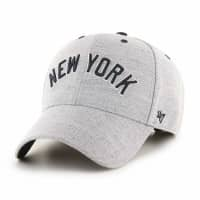 New York Yankees Storm Cloud Script '47 MVP Adjustable MLB Cap
