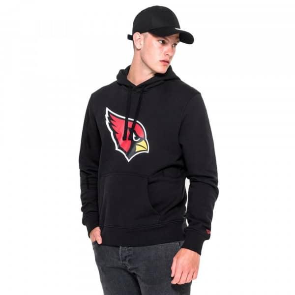 Arizona Cardinals Logo Hoodie NFL Sweatshirt Schwarz