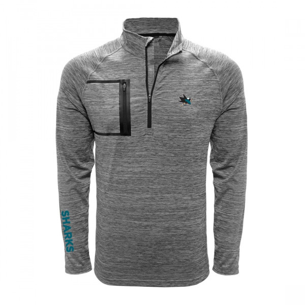 San Jose Sharks Vault Pocket Quarter Zip NHL Shirt