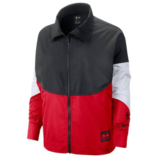 Chicago Bulls Courtside Snap NBA Jacke (DAMEN)