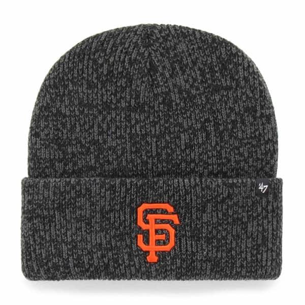 San Francisco Giants Brain Freeze MLB Beanie Wintermütze Schwarz