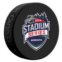 2016 Stadium Series Game Minnesota NHL Souvenir Puck
