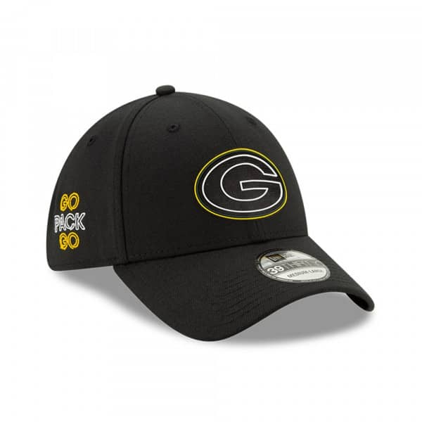 Green Bay Packers Official 2020 NFL Draft New Era 39THIRTY Flex Fit Cap